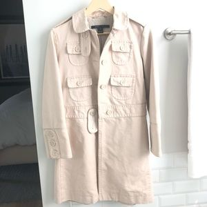 Marc Jacobs women's military style trench coat